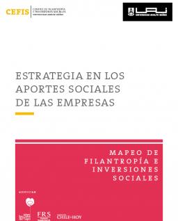 Estrategia en los aportes sociales de las empresas. Serie Mapeo de Filantropía e Inversiones Sociales