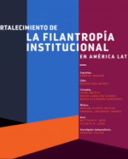 Hacia el fortalecimiento de la filantropía institucional en América Latina