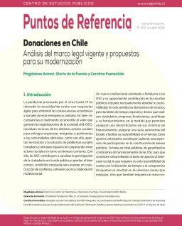Donaciones en Chile. Análisis del marco legal vigente y propuestas para su modernización