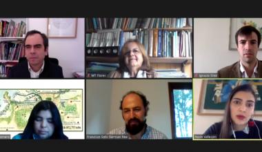 Rocío Vallespín, coordinadora de investigación del CEFIS expuso en conversatorio de Pew Charitable Trusts