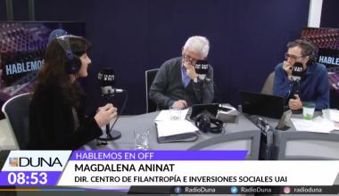 Magdalena Aninat y la filantropía en Chile: «Tiene que trabajar en legitimarse»